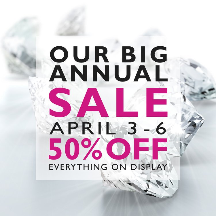 The BIG Annual Sale is back this Spring!