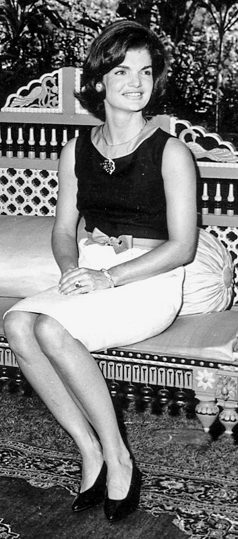 Jacqueline Kennedy In India 1962