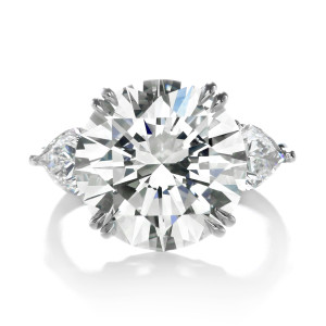 Forevermark By Premier Gem 10 08 Ctw Diamond Ring With Round Brilliant Forevermark Diamonds Set In Platinum 300X300