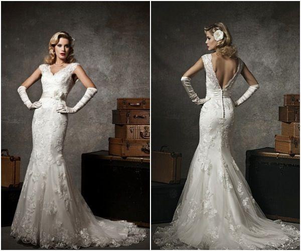 Old Hollywood Glamour Wedding Dresses - Wedding Dresses ...