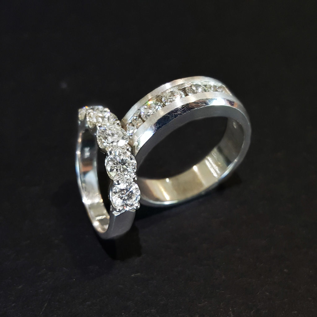 Forevermark Diamond Wedding Bands In White Gold 1024X1024