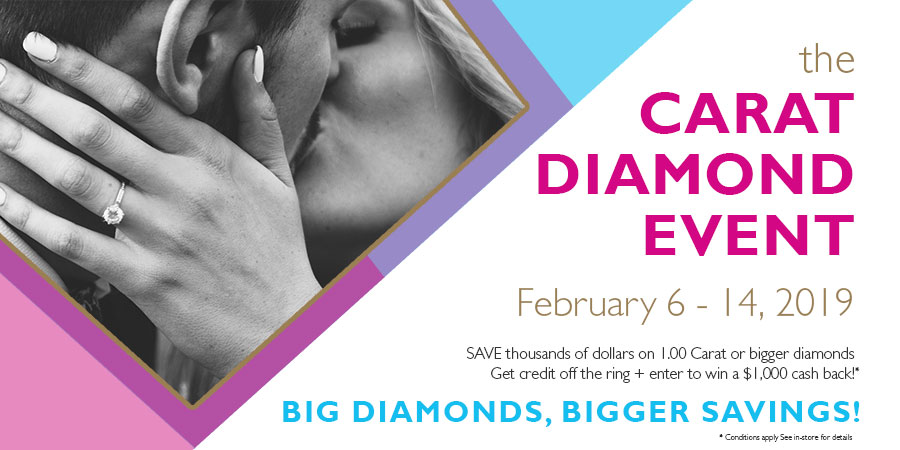 kelowna jewelry store engagement ring sale