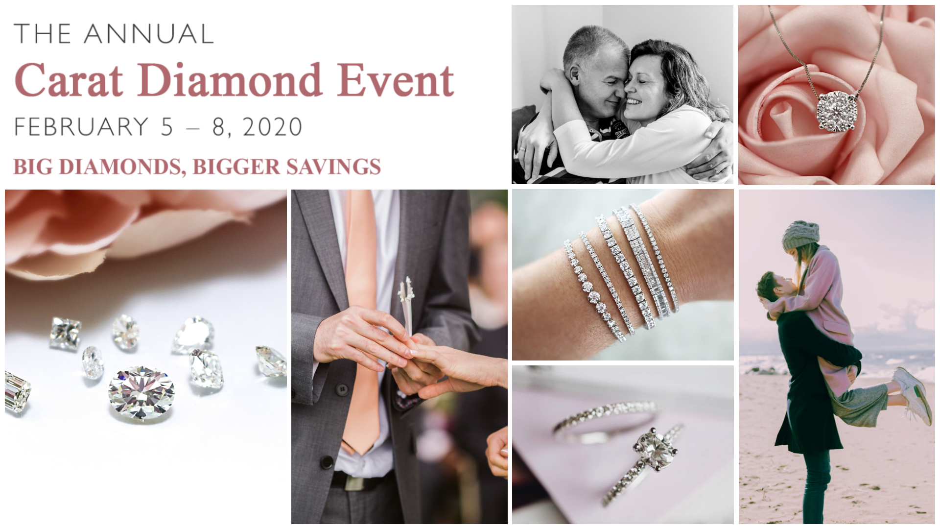 Kelowna diamond engagement rings and diamond jewelry event